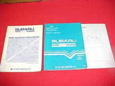 subaru brat 1983 subaru 1800 4wd turbo brat shop service repair manual wiring diagrams 83