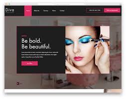 Designing Divas Hair Salon Diva Free Beauty Salon Website Template 2020 Colorlib