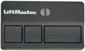 garage door opener liftmasterLiftmaster 373LM Chamberlain Garage Door Opener Remote  3 Button