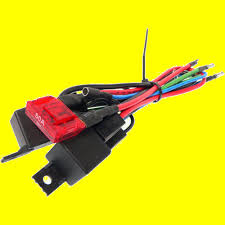 wiring harness converts 3 wire tilt trim motor to 2 wire 30 amp 9807 100 47 35 9003 28 9807 100