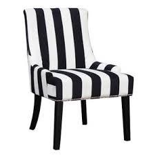 black and white striped furniture. aicha stripe wingback chair black and white striped furniture