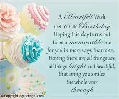 This Cards Your On A Wish Day Hoping Out Turns Birthday Heartfelt
