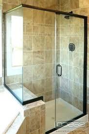 showers shower door half wall glass cleaner design doors with large size of screens d