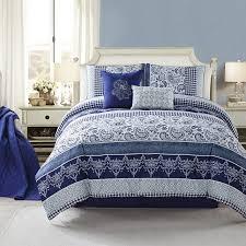 coastal bedding ideas coastalbedding maple harbour this blue and white