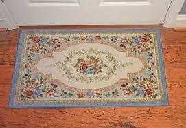 home design cute kitchen rugs inspirational 30x46 rug mat blue pink beige green estate rose