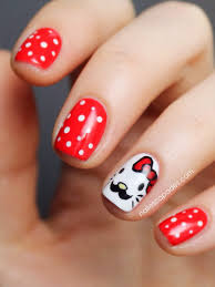 Nail Escapades: Hello Kitty Movember Nails