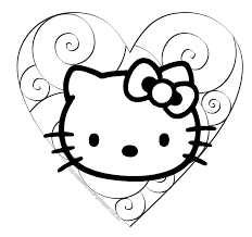 Free printable hello kitty valentines day coloring pages for kids.free print out online activities worksheet hello kitty valentines day coloring pages for kids.printable. Hello Kitty Coloring Sheets For Kids Page 1 Line 17qq Com