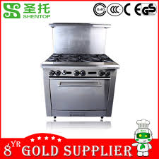 American Design Components Shentop Commercial Kitchen Equipment Gas Cooking Range Stpp Jlxd4 100 North American Design Csa Or Ce Approved Components Stainl Buy Gas Range Heavy