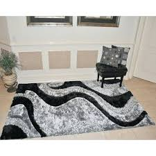rugs 5 x 8 black area rug 5x8 wool india