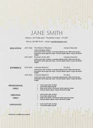 Free Printable Resume Template That Can Be Edited Instant Download