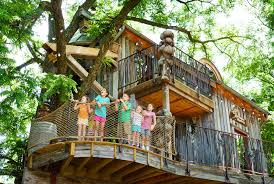 Treehouse Pictures Education Center And Treehouse Dogwood Canyon