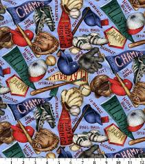 18 best Baseball Fabric images on Pinterest | Accent colors ... & Novelty Cotton Fabric Baseball EquipmentNovelty Cotton Fabric Baseball  Equipment, Adamdwight.com