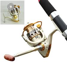 jx1000 7000 spinning fishing reel 5 5 1 wood handle knob metal spool tackle lure rod telescopic wheel pesca