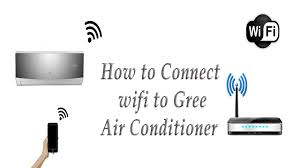 how to connect wifi to gree ac