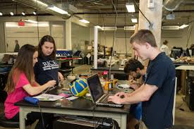 Attractive Rice Bioengineering Students Work At The Oshman Engineering Design Kitchen  On Their Prototype Of A Pulse Gallery