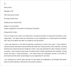 Pharmacy Technician Cover Letter Photographic Gallery Cover Letter
