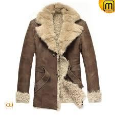 men s fur leather coat jackets cwmalls com