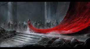 red rock queen fantasy art drawings ...