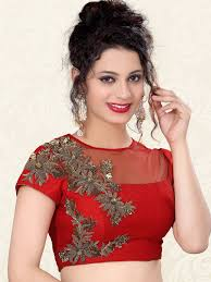 Designer Blouse Online Shopping With Price Red Nice Raw Silk Designer Ready Made Blouse For Price Or