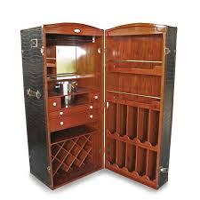 space saving leather bar trunk bar trunk furniture