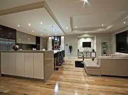 Contemporary Open Plan Living Area  Interior Design IdeasContemporary Open Plan Kitchen Living Room