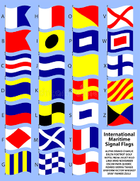 Found in the signals section, it was paired with the alphabetical code flags defined in the international code. International Maritime Signal Flags Eps Stock Vector Illustration Of Navy Communication 12498853
