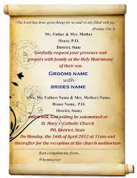invitations cards free indian wedding invitation cards templates free download 10