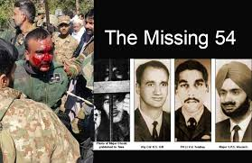 Image result for 54 indian missing soldiers