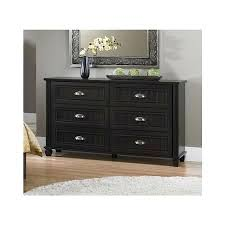 small 6 drawer dresser espresso stunning classic design black painted rectangle wooden cabinet s98