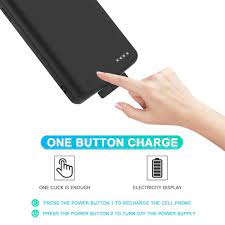 Từ Ngân Hàng Điện Pin Sạc Dự Phòng Trường Hợp Cho Xiaomi Redmi Note 8 8 Pro  Pin Ốp Lưng Không Dây Di Động Pin Chargeing Ốp Lưng|Hộp Sạc Pin