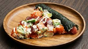 It's made with flour, eggs, tempura scraps ( tenkasu ), cabbage, and pork belly slices and topped with a variety of condiments like okonomiyaki sauce. Dishing Out Italian Pizza With A Japanese Spin Nikkei Asia