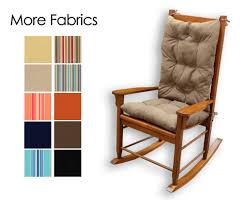 sunbrella indoor outdoor rocking chair cushion set choose pad danish teak furniture enfant ikea review chairs