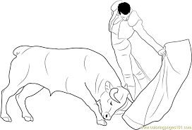 Small Picture Bull Coloring Pages Printable Coloring Pages of Bulls