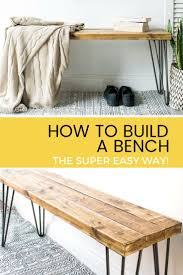 best  bench plans ideas on pinterest  diy bench diy wood
