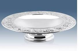 23rd anniversary silver plate