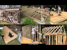 Small Picture DIY How to Build 12 x 24 Mega Shed Shack Tiny House Garage