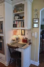 Small Kitchen Computer Nook kitchen office nook ideas kitchen