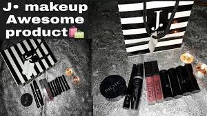 one brand j junaid jamshed note makeup swatches review in urdu hindi