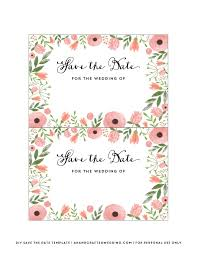 save the date template free download diy save the date postcard free printable mountain modern life