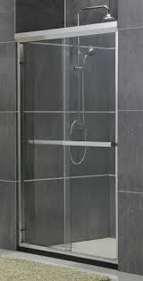 matte sliver aluminum alloy shower enclosure kit double sliding homebase shower screen images