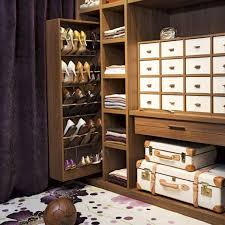 Pull Out Hidden Cabinet Shoe Rack Storage For Saving Small Closet Spaces  Ideas