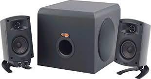 amazon com klipsch promedia 2 1 thx certified computer speaker image unavailable