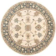 round indoor rugs willow gray 8 ft x 8 ft round indoor area rug indoor outdoor rugs home depot