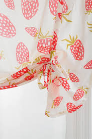 Strawberry Kitchen Curtains 17 Best Images About Curtains Making Them Myself On Pinterest