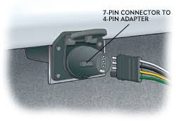wiring your trailer hitch 4 Prong Wiring Harness running lamps and activate the left turn signal identify which circuit is the blinker, and repeat for the right turn signal wire all to the connector 4 prong trailer wiring harness diagram