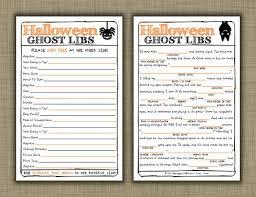 mad libs printable google search bulletin board spooky halloween