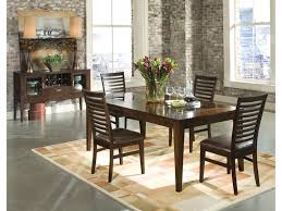 kashi dining table with glass inlays intercon