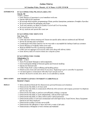 how do you set up a resumes scale operator resume samples velvet jobs