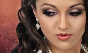 makeup brown smokey eye make up looks best bridal makeup work images on wedding 92