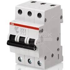 <b>Автоматический выключатель трехполюсный АВВ</b> 74973 15 А 4.5 ...